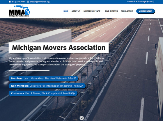 New Website & E-Tariff | Michigan Movers Association
